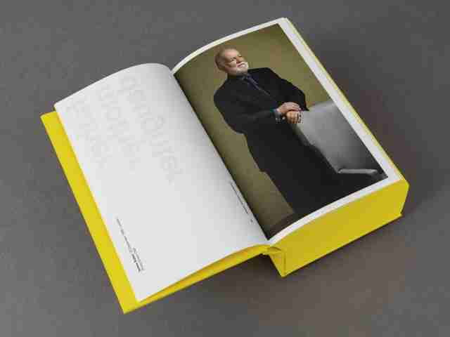 James Jennifer Georgina – A book as a portrait by Irma Boom for Erasmus Publishing – Product photo by Ivan Jones