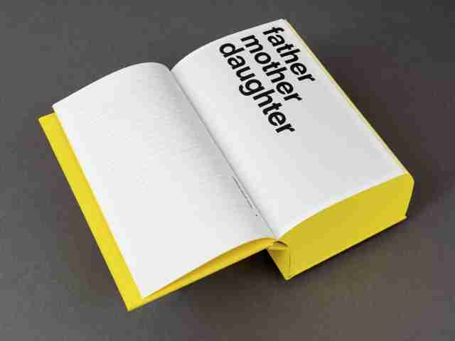 James Jennifer Georgina – A story with conversations by Irma Boom for Erasmus Publishing – Product photo by Ivan Jones