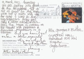 James Jennifer Georgina – Postcard stamped on Thursday, March 19, 1992