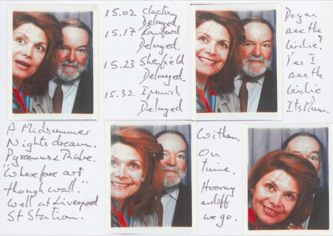 James Jennifer Georgina – Postcard stamped on Tuesday, June 9, 1992