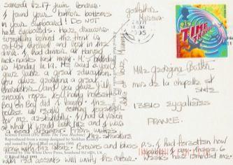 James Jennifer Georgina – Postcard stamped on Friday, June 17, 1994