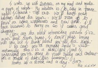 James Jennifer Georgina – Postcard stamped on Wednesday, June 17, 1998